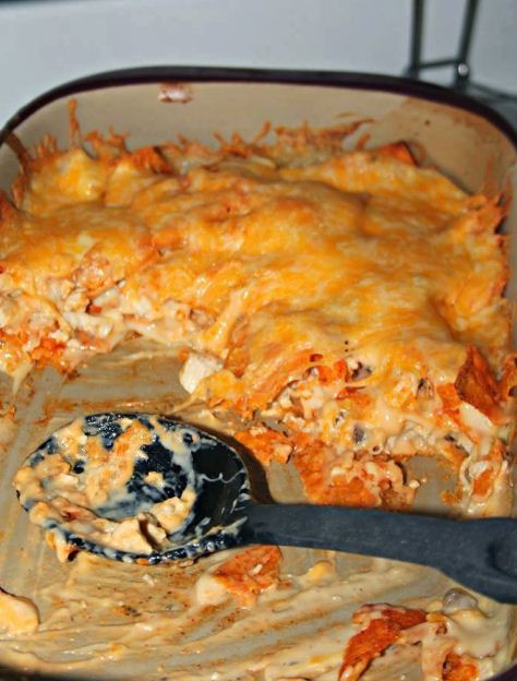 Amazing Chicken Dorito Casserole