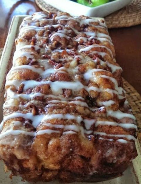 Country Apple Fritter Bread – Now You Can Have Your Fritters And Sweet Bread At The Same Time!