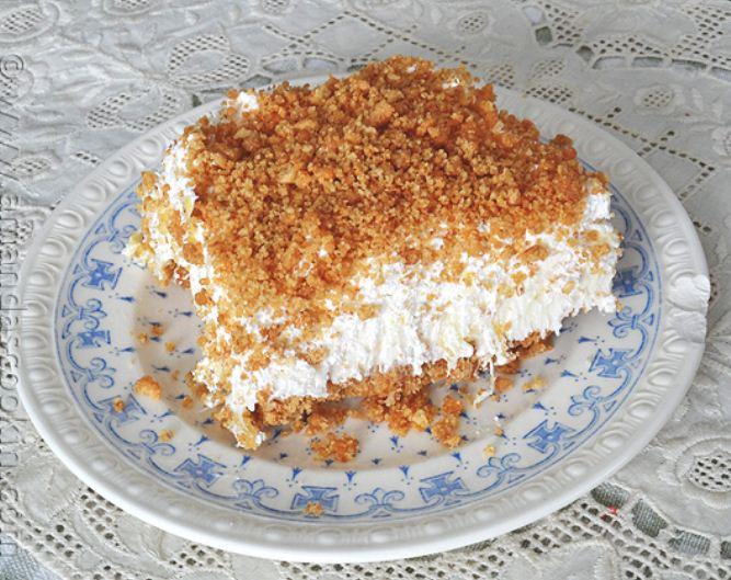 Pineapple Dream Delight Dessert