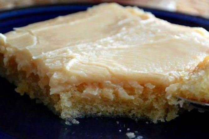 Texas Peanut Butter Sheet Cake With Peanut Butter Icing
