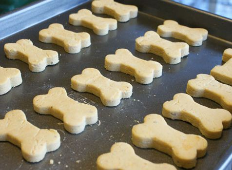 4-Ingredient Dog Biscuits