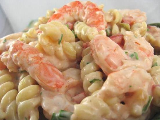 Shrimp Louis Pasta Salad