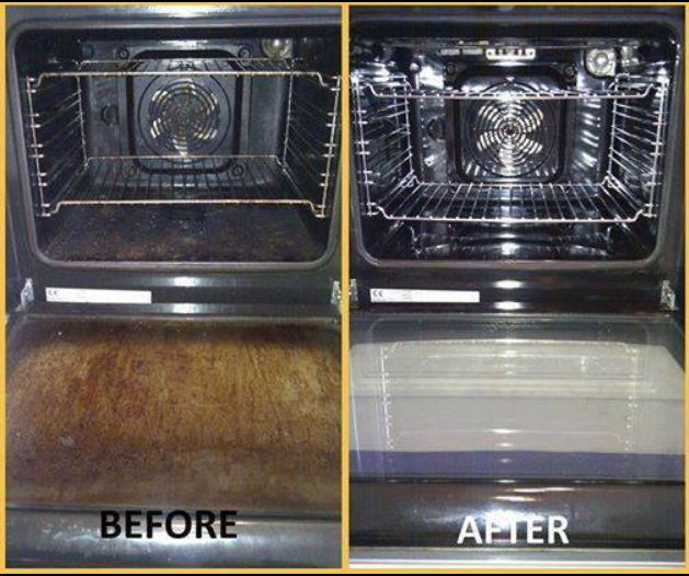 CLEANING YOUR OVEN – The easiest way EVER!