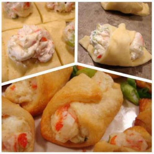 CRAB & CREAM CHEESE SNACKS