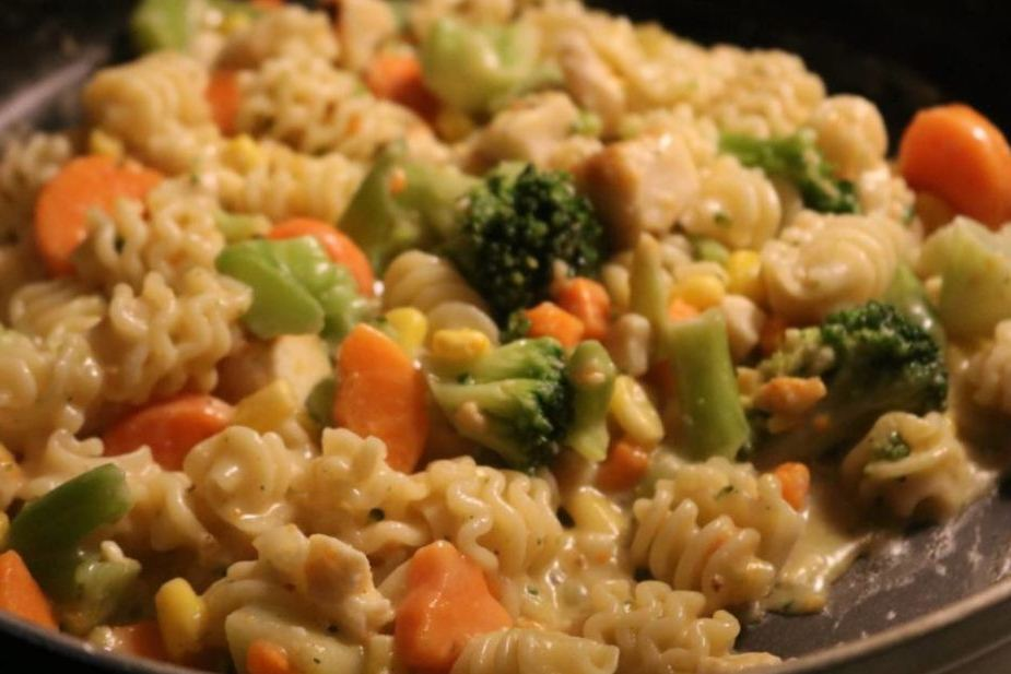 Magic Sauce Veggie Pasta