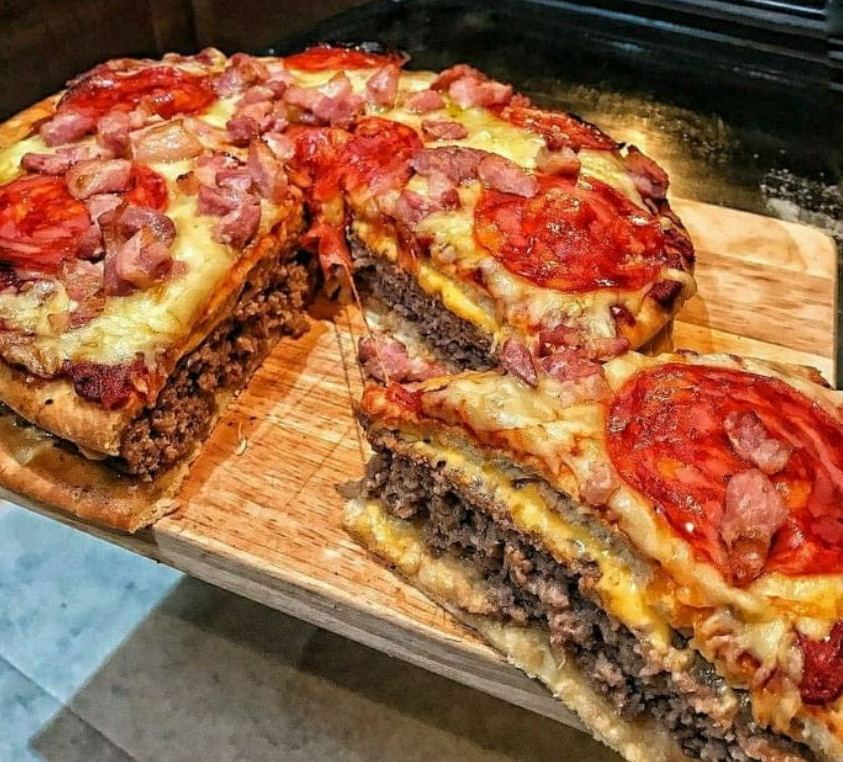 The Pizza Burger Pie