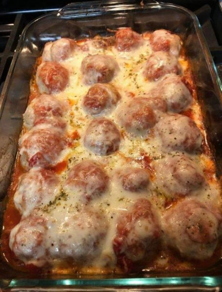 Dump And Bake Your Way To A Fantastic Meatball Casserole