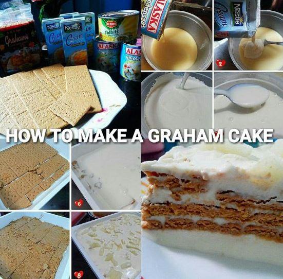 How to make a Graham Cake