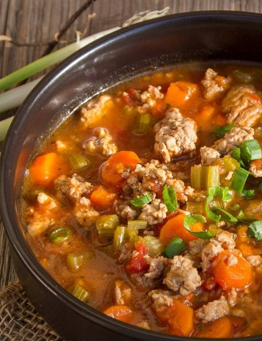 The Best Healthy Hamburger Slow Cooker Soup