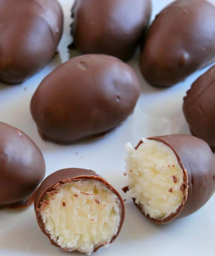 No Bake Coconut Cream Eggs!