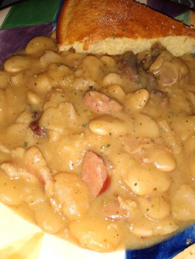 Butter Beans and Cornbread