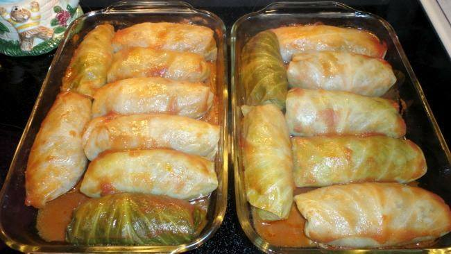 Stuffed Cabbages Roll