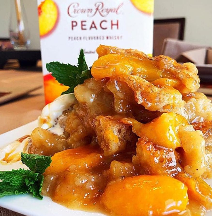 Crown Royal Peach Cobbler