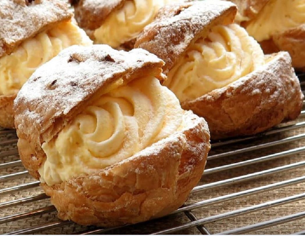 Simple and Easy Cream Puffs