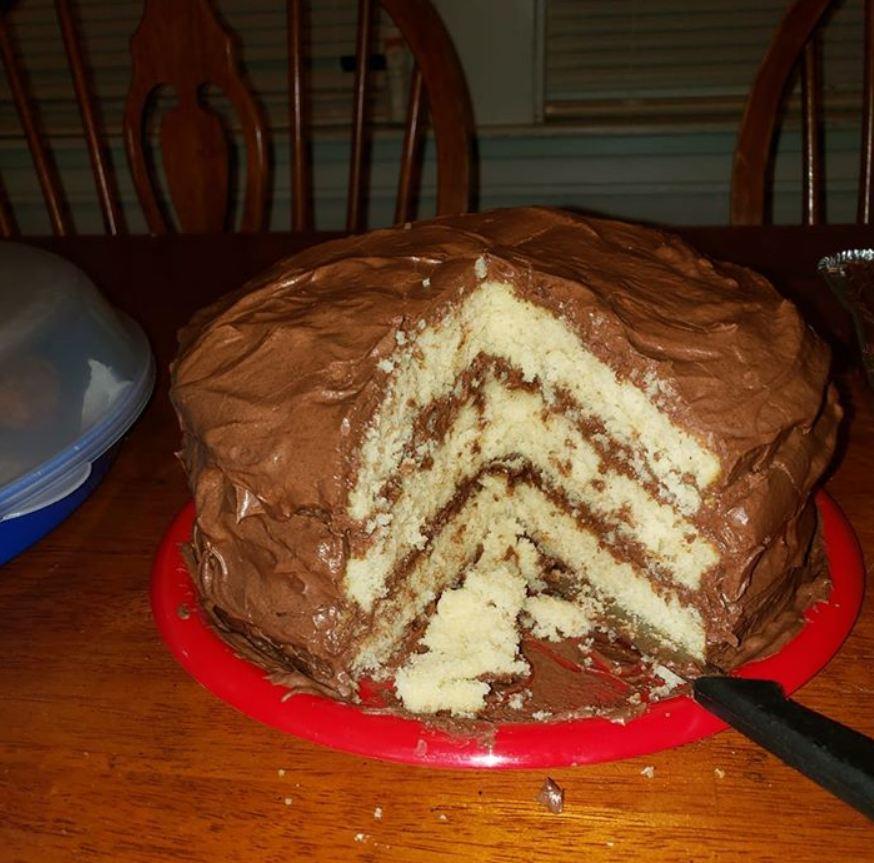 1 2 3 4 Butter Cake