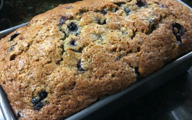 Blueberry Zucchini Bread