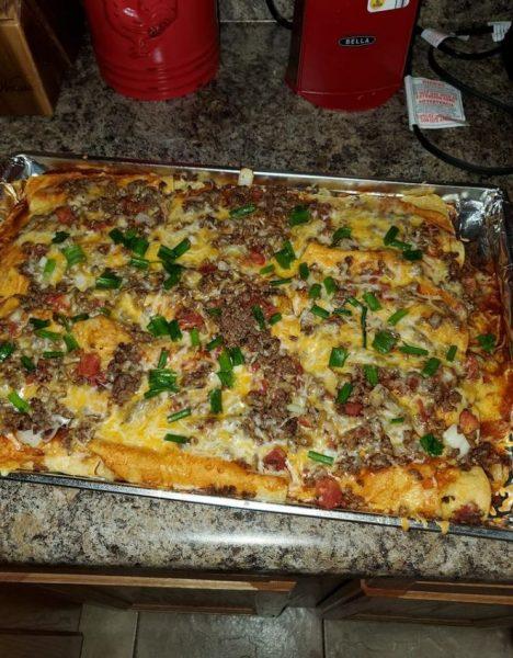 Smothered enchiladas